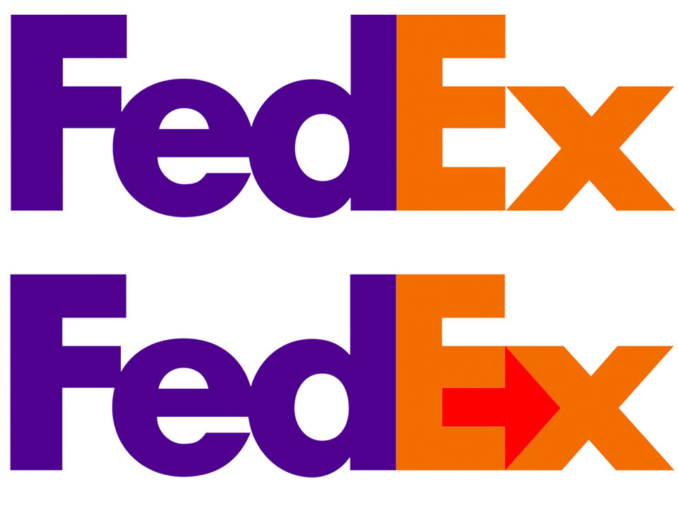 Fedex logo 23 logos or symbols that have hidden meanings within them