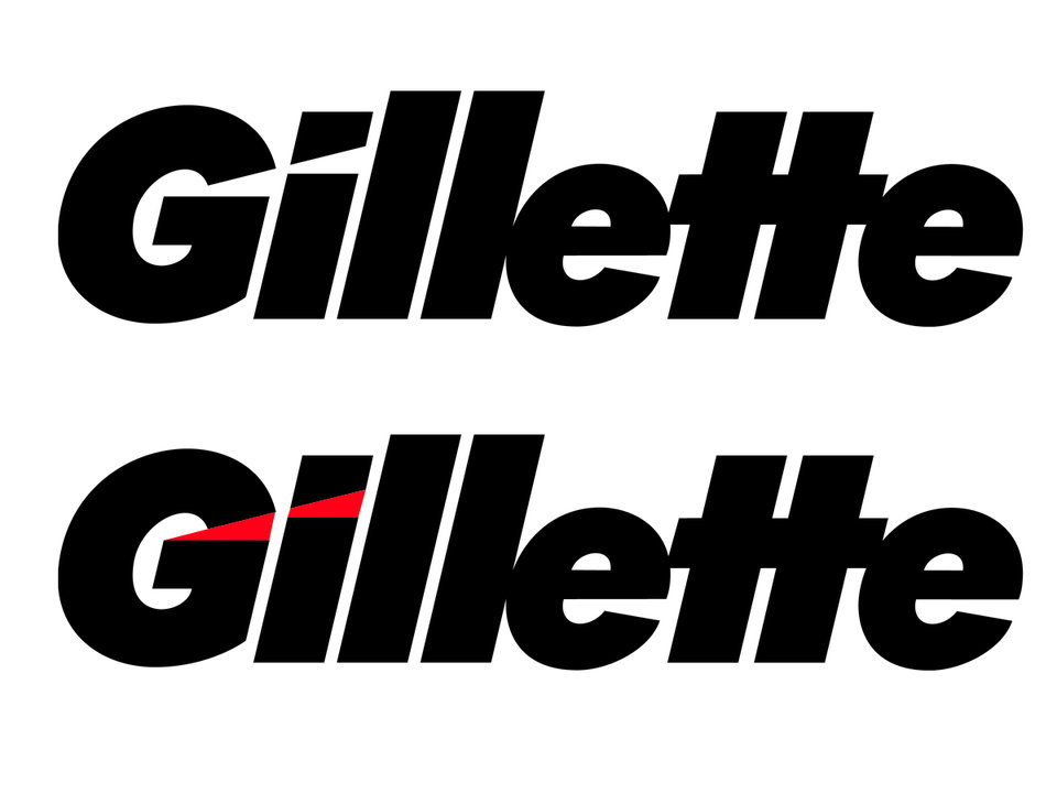 Gillette logo 23 logos or symbols that have hidden meanings within them