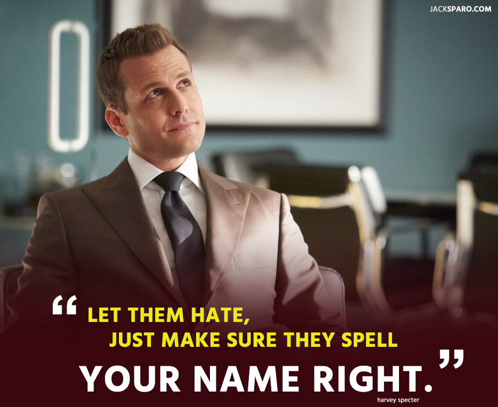 frases harvey specter suits tv show